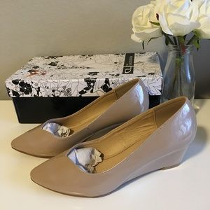 CL by Laundry Nude Wedges
